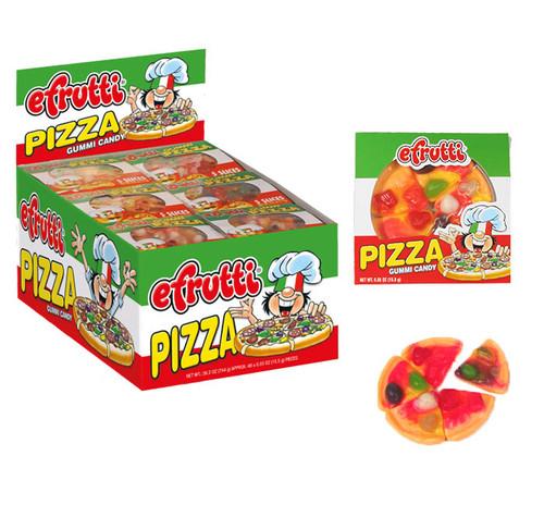 Mini Gummi Pizzas 48 Count