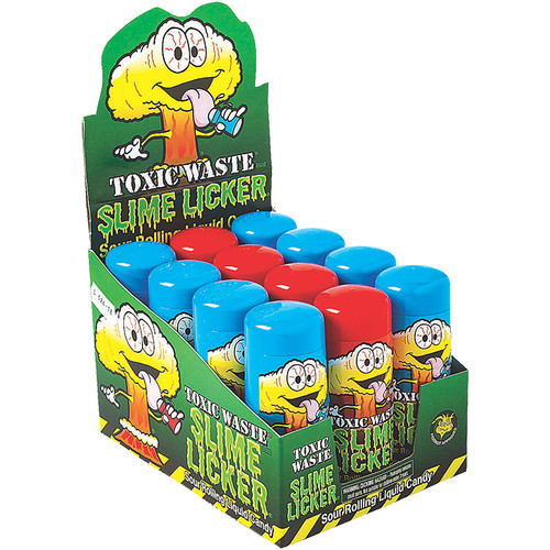 Toxic Waste Slimer Lickers Liquid Candy 60ml 12ct