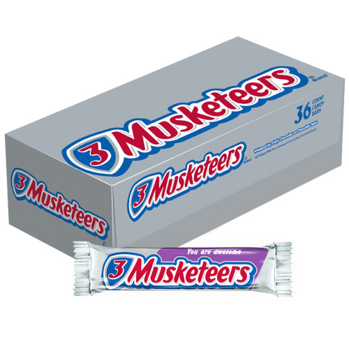 3 Musketeers Candy Bar Countgood 36 Count