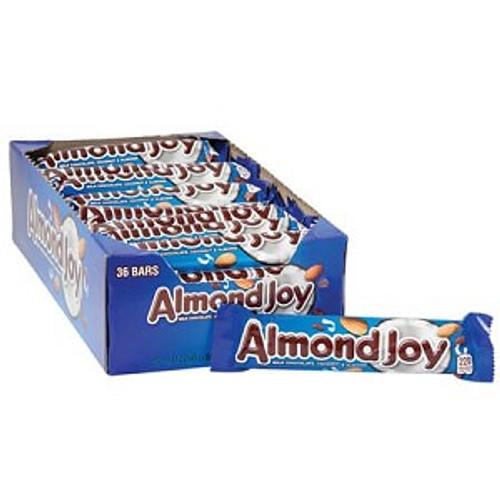 Almond Joy Candy Bar Countgood 1.61 Ounce 36 Count