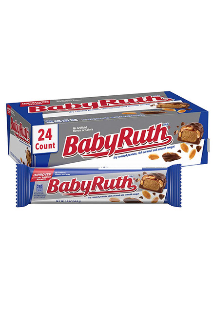 Baby Ruth Candy Bar Countgood 24 Count