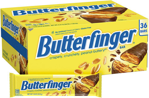 Butterfinger Candy Bar Countgood 36 Count