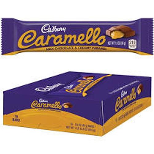 Caramello Candy Bar Countgood 1.6 Ounces 18 Count