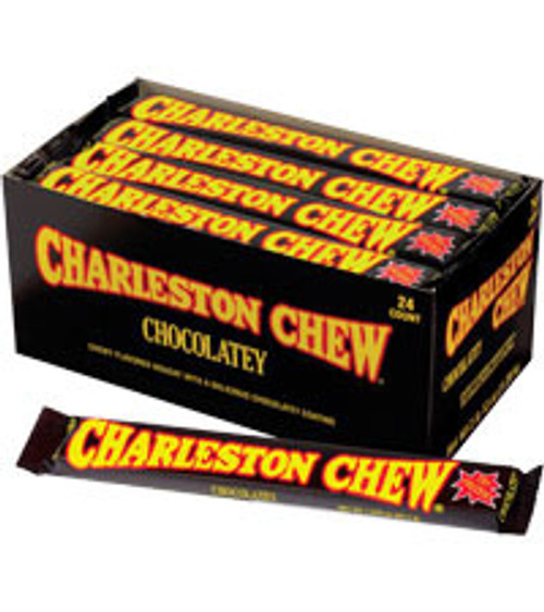 Charleston Chew Chocolate Countgood 1.88 Ounce 24 Count