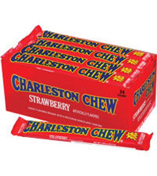 Charleston Chew Strawberry Countgood 1.88 Ounce 24 Count