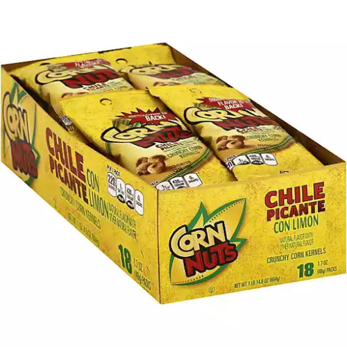 Corn Nuts Chile Picante Countgood 1.7 Ounce 18 Count