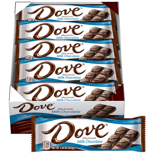 Dove Milk Chocolate 1.44 Ounce Countgood 18 Count