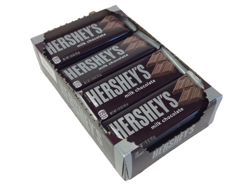 Hershey's Milk Chocolate Candy Bar Countgood 36 Count