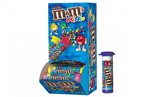 M&M Minis Tube Countgood 1.08 Ounce 24 Count