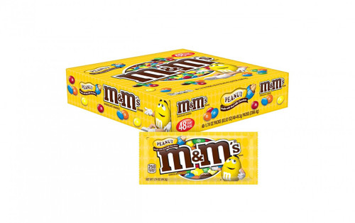 M&M Peanut Countgood 1.74 Ounce 48 Count