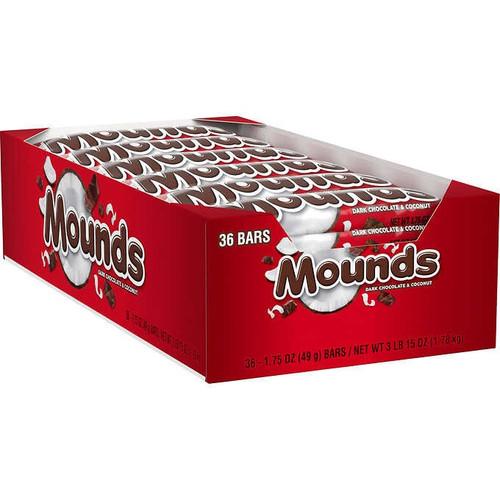 Mounds Candy Bar Countgood 36 Count