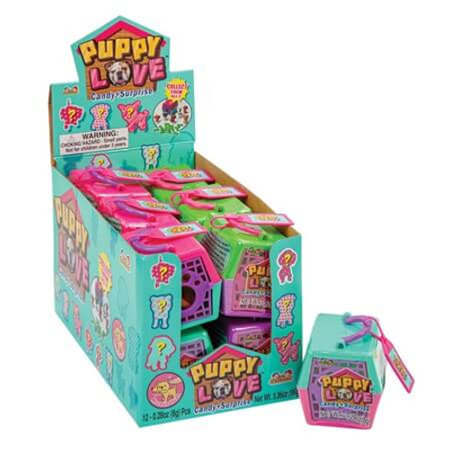 Puppy Love Candy w/ Toy Surprise 0.28 Ounce 12 Count