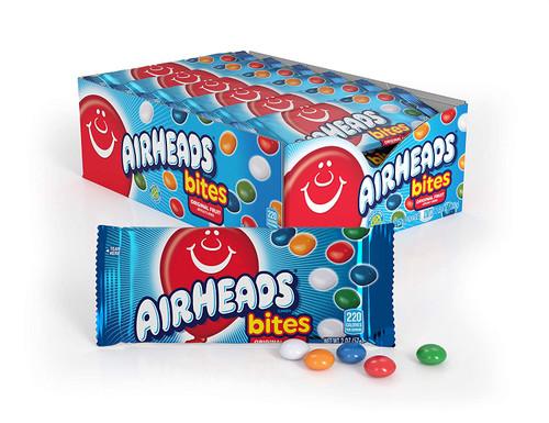 Airheads Bites Original Fruit 2 Ounce 18 Count