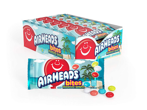 Airheads Bites Paradise Blend 2 Ounce 18 Count
