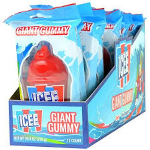 Icee Giant Gummy 2.1 Ounces 12 Count