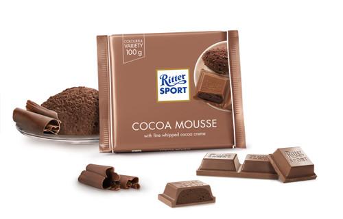 Ritter Sport Cocoa Mousse 3.5 Ounces 11 Count