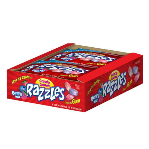 Razzles Berry Mix 1.4 Ounce 24 Count