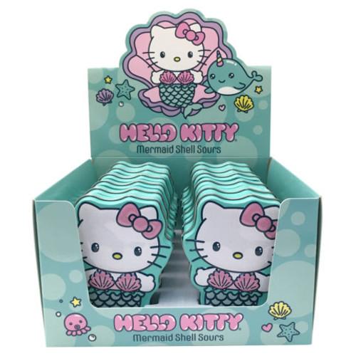 Hello Kitty Mermaid Shell Strawberry 1 Ounce 12 Count