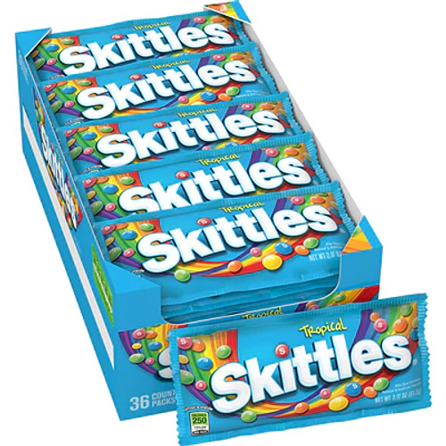 Skittles Tropical Countgood 36 Count