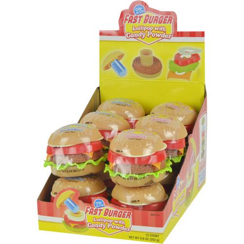 Fast Burger Dip N Lik 0.74 Ounces 12 Count