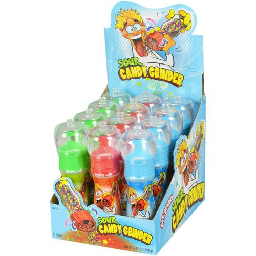 Sour Candy Grinder 1.02 Ounces 12 Count