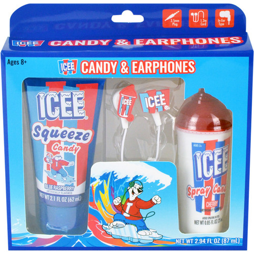 Icee Candy and Earphones 2.94 Fluid Ounces 6 Count