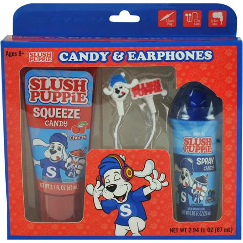 Slush Puppie Candy and Earphones 2.94 Fluid Ounces 6 Count