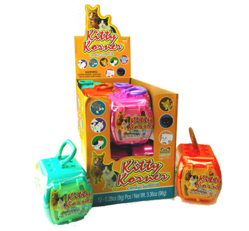 Kitty Corner Candy w/ Toy Surprise 0.28 Ounce 12 Count