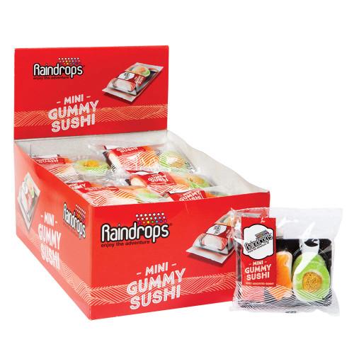 Raindrops Sushi Mini 12 Count 1.4 Ounces