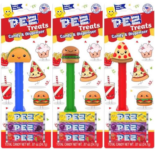 Pez Treats Assortment 0.87 Ounces 12 Count Blister Card