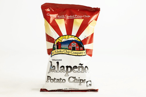 Volcano Chips Jalapeno 1 Ounce 72 Count