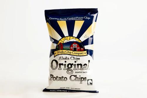 Alaska Chips Lightly Salted Bulk 20 Ounce 8 Count