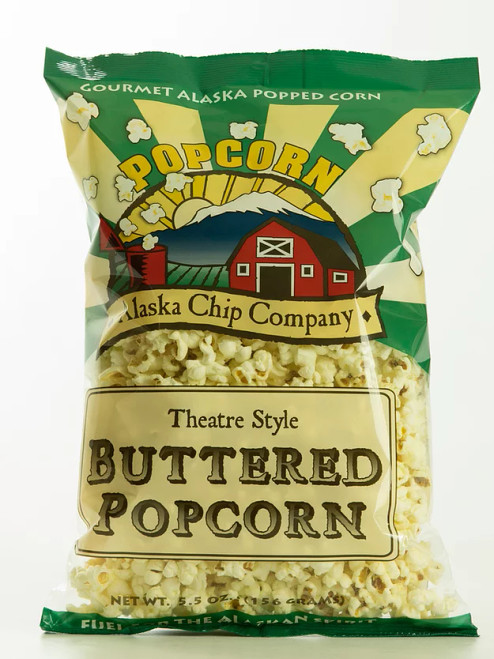 Buttered Popcorn 5.5oz Ounce 10 Count
