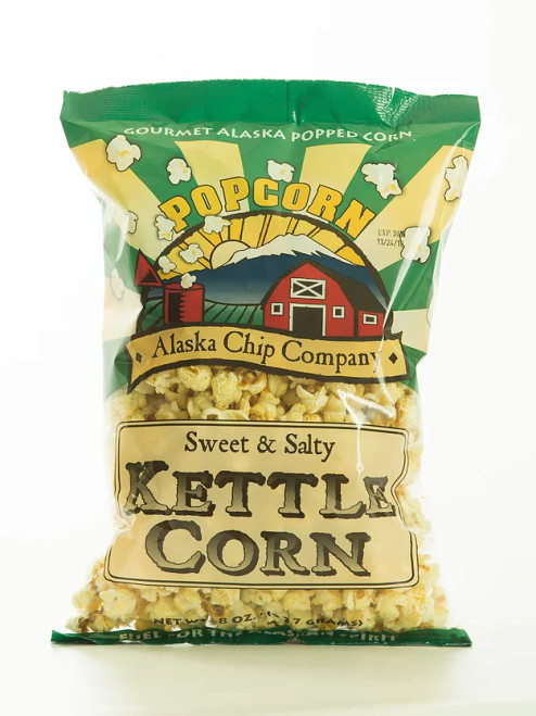 Kettle Corn Popcorn 8 Ounce 10 Count