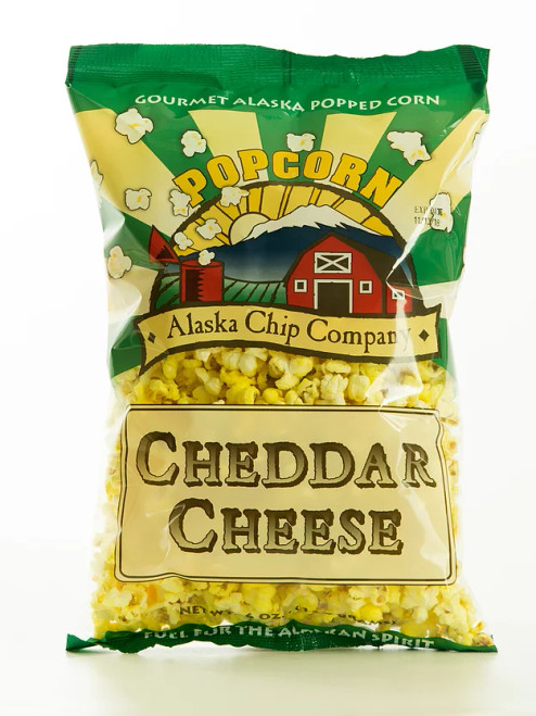 Cheese Corn Popcorn 6 Ounce 10 Count
