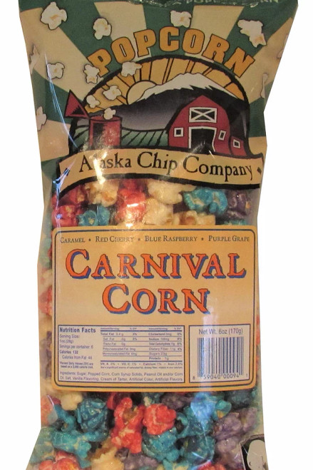 Carnival Corn Mix Popcorn 6 Ounce 24 Count