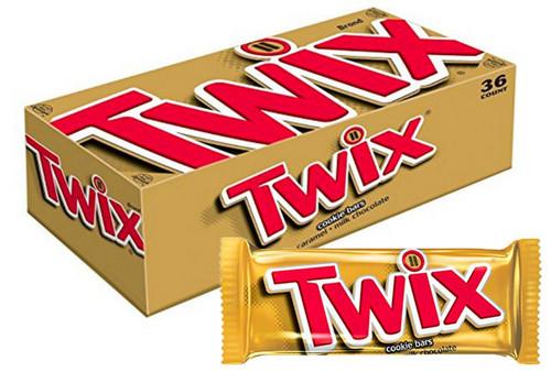 Twix Caramel Candy Bar Countgood 2 Ounce 36 Count