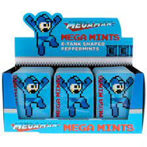 Megaman Megamints Peppermint Tins 1.2oz 18ct
