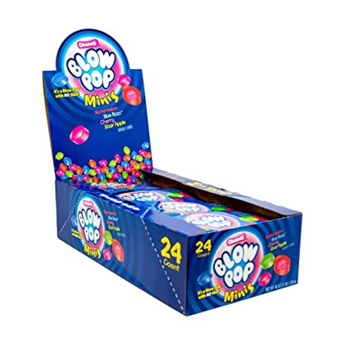 Blow Pops Minis Assorted 24 Count