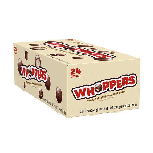 Whoppers Count Good 1.75 Ounces 24 Count