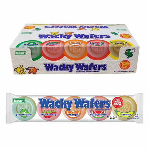 Wacky Wafers 1.2 Ounce 24 Count