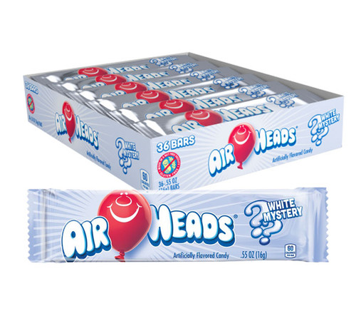 Airheads White Mystery Singles 0.55 Ounce 36 Count