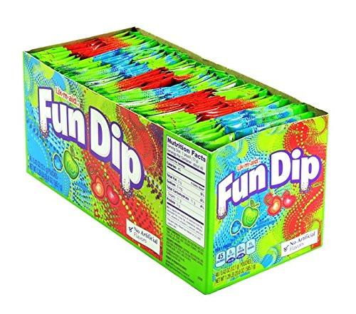 Fun Dip Apple/Cherry 0.43 Ounce 48 Count