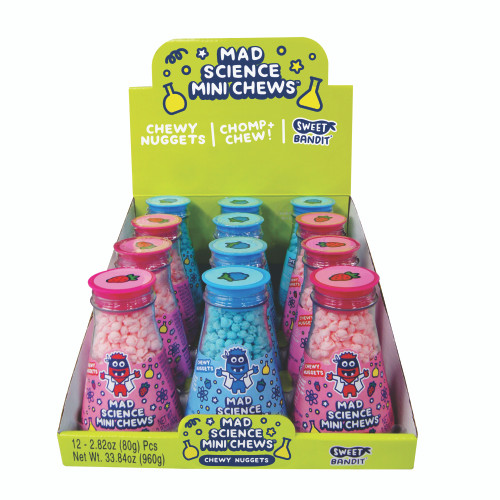 Mad Science Mini Chews 2.82 Ounce 12 Count