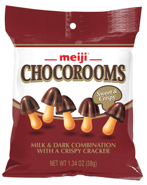 Chocorooms Chocolate Peg Bag 1.34 Ounce 8 Count
