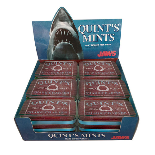 Jaws Quint Mints Peppermint 1.5 Ounce 18 Count