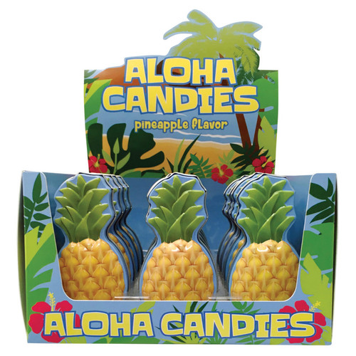 Aloha Pineapple Candies 0.7 Ounce 18 Count