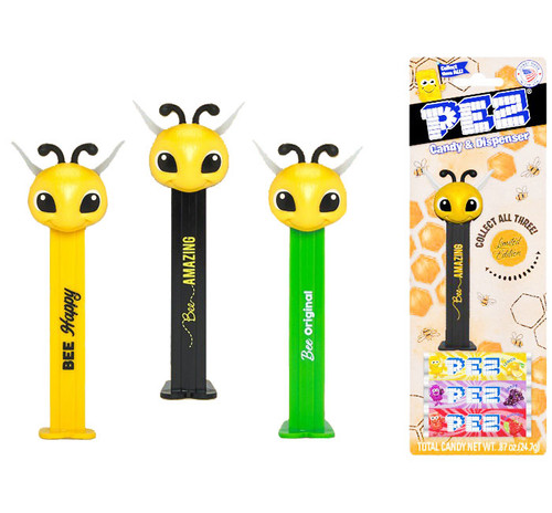 Pez Bee Blister Card 0.87 Ounce 12 Count