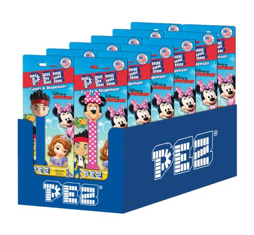 Pez Disney Jr. Assortment Blister Card 0.87 Ounce 12 Count