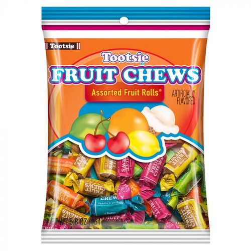 Tootsie Roll Fruit Chews 6.5 Ounce 12 Count